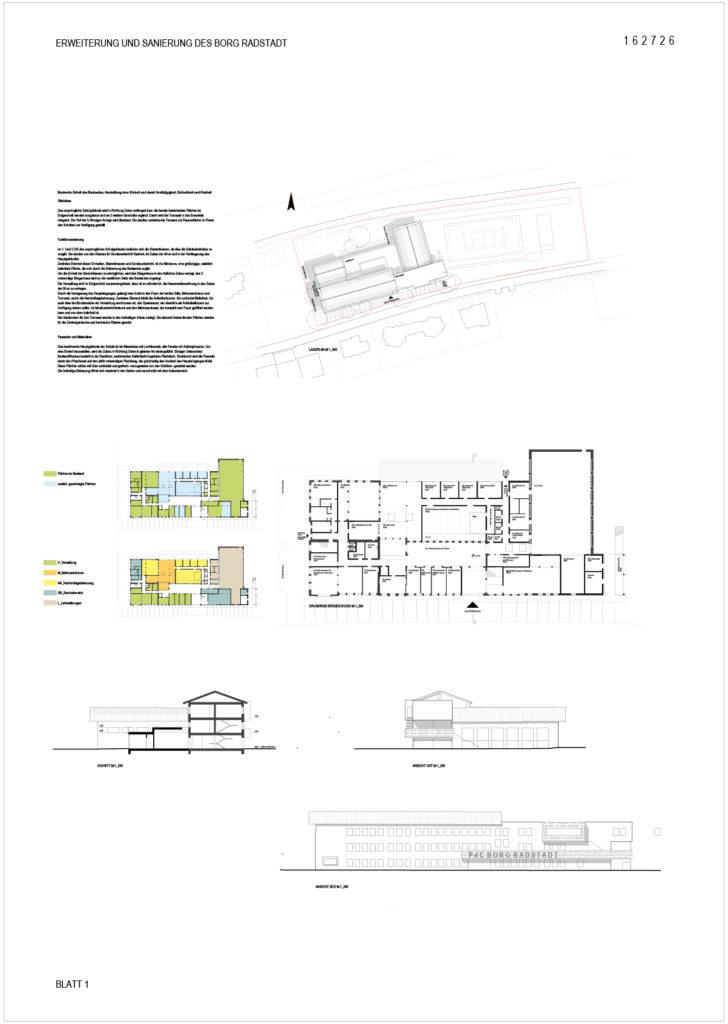 Erweiterung und Sanierung des Borg Radstadt